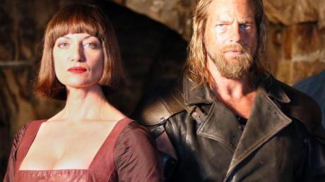 RTL zeigt Natalia Wörner als Adelheid von Walldorf und Henning Baum als Götz von Berlichingen.