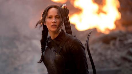 "Jennifer Lawrence verkörperte in den ersten Teilen der ""Tribute von Panem""-Saga"" Katniss Everdeen."