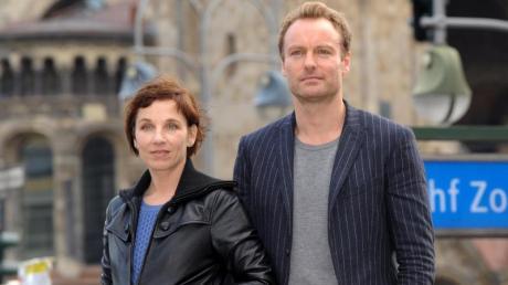 Meret Becker und Mark Waschke sind das neue «Tatort»-Team in Berlin.