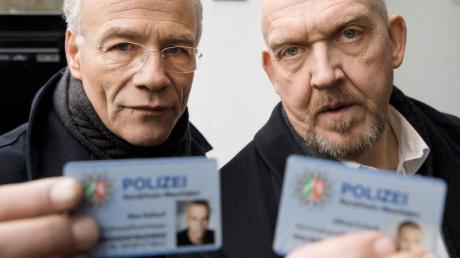 Es geht weiter: Klaus J. Behrendt, l) und Dietmar Bär in der «Tatort»-Folge «Durchgedreht».