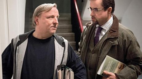 Ausgesprochen erfolgreich: Axel Prahl (l) und Jan Josef Liefers (r) als «Tatort»-Ermittler.