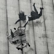 Banksy hinterlässt seine Motive seit über 25 Jahren an Wänden, Mauern und Häusern überall auf der Welt. Foro: Jacqueline Rother Foto: Jacqueline Rother