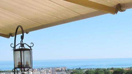 Das Städtchen Cagnes-sur-Mer liegt an der malerischen Côte d'Azur. Der Ort diente vielen Künstlern und Literaten als Ruhepol.