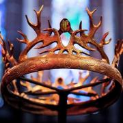 Eine Krone aus der HBO-Serie «Game of Thrones». Foto: Robin Utrecht