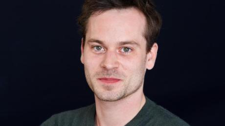Schauspieler Florian Bartholomäi 2016 in Hamburg.