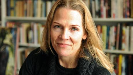 Die Autorin Åsne Seierstad wird am 14. März 2018 für ihr Buch «Einer von uns: Die Geschichte des Massenmörders Anders Breivik» mit dem Leipziger Buchpreis zur Europäischen Verständigung 2018 ausgezeichnet. Foto: Sigrid Harms