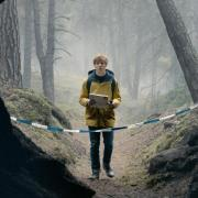 Schauspieler Louis Hofmann in einer Szene der deutschen Netflix-Serie «Dark»(Folge 1). Foto: Julia Terjung