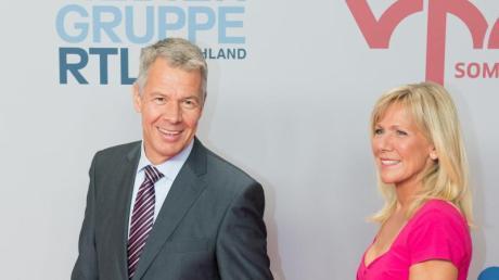 Peter Kloeppel und Ulrike von der Groeben sind seit Jahrzehnten die Gesichter von «RTLAktuell». Foto: Bernd von Jutrczenka