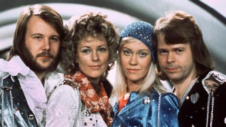 Die schwedische Band ABBA.