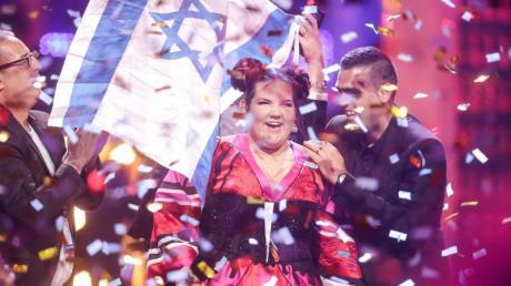 Sängerin Netta aus Israel hatte den ESC 2018 in Portugal gewonnen.