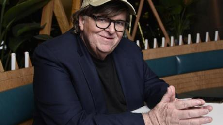 Michael Moore stellt «Fahrenheit 11/9» in Toronto vor.