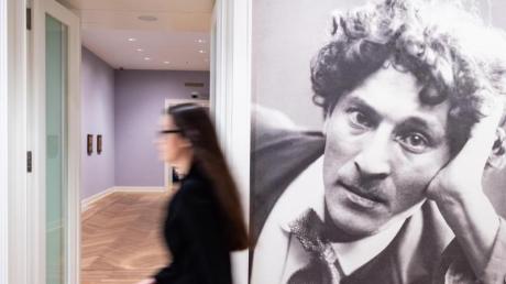 Das Portrait zeigt Marc Chagall. Foto: Guido Kirchner