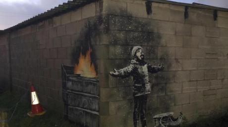 Schöne Weihnachten mit Banksy.