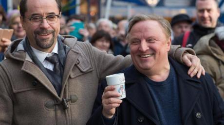 Jan Josef Liefers und Axel Prahl sollen 2019 dreimal auf Verbrecherjagd gehen.
