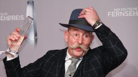 Nicht zu verscherbeln: Horst Lichter bekommt einen Fernsehpreis für «Bares für Rares». Foto: Henning Kaiser