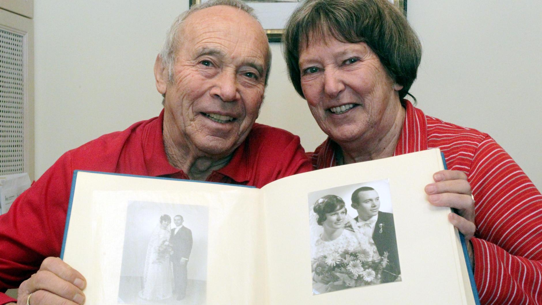 Ehejubiläum: Eine Sportlerehe seit 50 Jahren   Augsburger