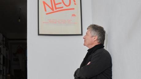 Michael Rothers Solo-Werke sind neu aufgelegt worden. Foto: Annette Riedl