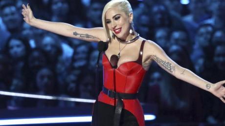 Lady Gaga bei der Verleihung der MTV Movie & TV Awards.