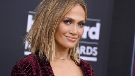 Jennifer Lopez bei der Verleihung der Billboard Music Awards 2018.