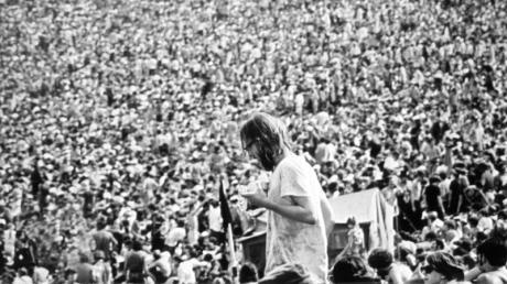 """So sah es damals auf dem Woodstock-Festival aus. Die Hommage an das Kult-Festival, """"Woodstock 50"""", wurde nun abgesagt."""