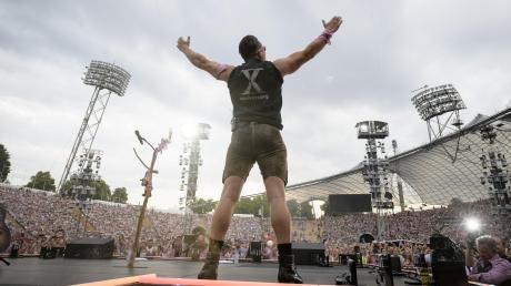 Im vierten Jahr in Folge trat Gabalier am Samstag in einem mit rund 70000 Fans ausverkauften Olympiastadion auf. 2020 macht er erst mal Pause.