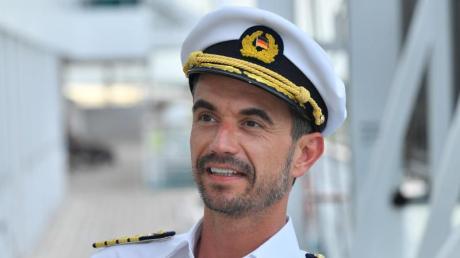 Den Job als Schiffsführer  macht der gebürtige Niederbayer gern.