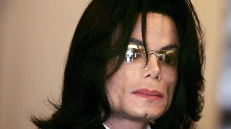 US-Popstar Michael Jackson im Jahr 2005. Foto: Mata