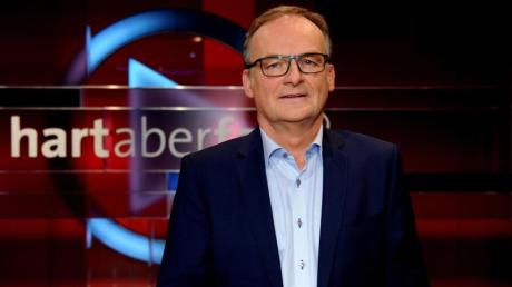Frank Plasberg moderiert die ARD-Talkshow «hart aber fair». Foto: Horst Galuschka