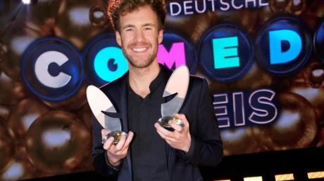 Luke Mockridge wurde bei der Verleihung des Deutschen Comedypreises 2019 in der Kategorie Bester Komiker ausgezeichnet.