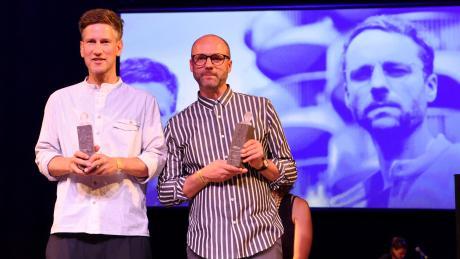 """Am Samstag beenden die Techno-DJs Tobias Schmid (links) und Stefan Sieber ihre Partyreihe """"auto.matic.music"""" nach 18 Jahren. Die Veranstaltung im City-Club trägt dafür den passenden Namen: The last Dance."""