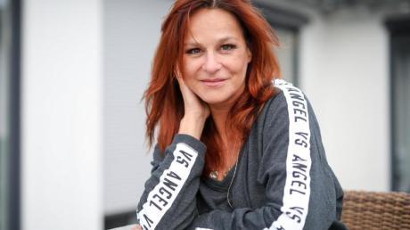 Die Sängerin Andrea Berg bei den Proben für ihre neue Show. Foto: Christoph Schmidt/dpa