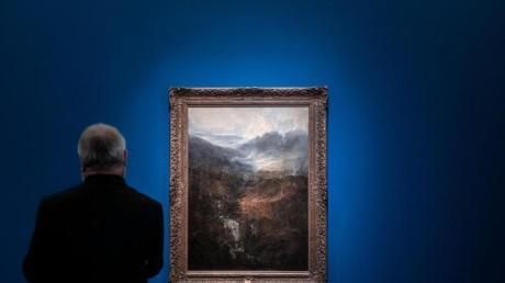 Das Gemälde «Morgen in den Corniston Fells» von Wiliam Turner in Münster.