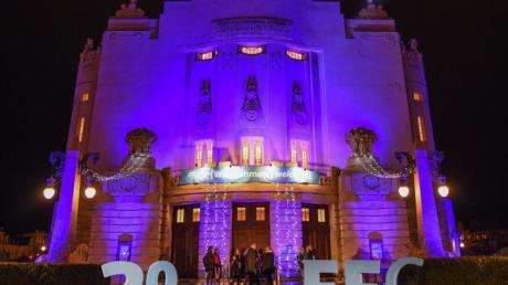 Die Eröffnungsfeier des Filmfestivals Cottbus fand im Staatstheater statt.
