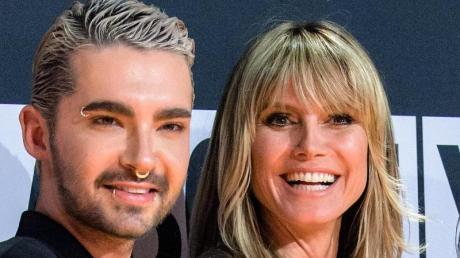 Bill Kaulitz ist ganz auf Heidi Klums Seite. Foto: Matthias Balk/dpa