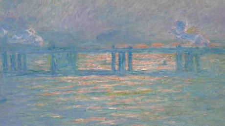 Claude Monet, Charing Cross Bridge, 1903. Foto: Sothebys/dpa