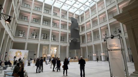 Der überdachte Hof im wieder errichteten Berliner Stadtschloss.