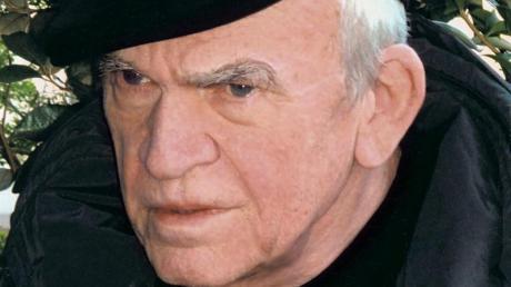 Milan Kundera im Jahr 2005 in Madrid.