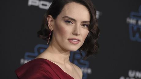 Daisy Ridley bei der Star-Wars-Premiere in Hollywood.