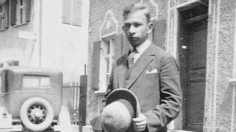 Ludwig Seligmann in seiner schwäbischen Heimat Ichenhausen.