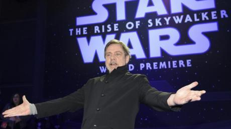 Mark Hamill bei der Weltpremiere von «Star Wars: Der Aufstieg Skywalkers» in Los Angeles.