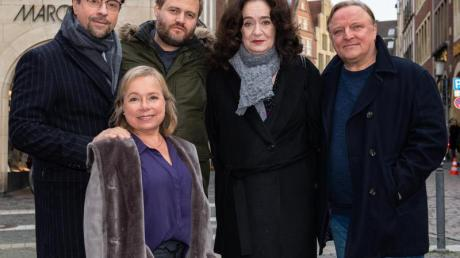 Das Münsteraner «Tatort»-Team bei den Dreharbeiten zur Folge «Limbus».