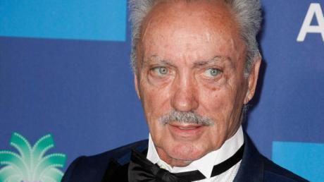 Der Schauspieler Udo Kier bei der Preisverleihung in Palm Springs.
