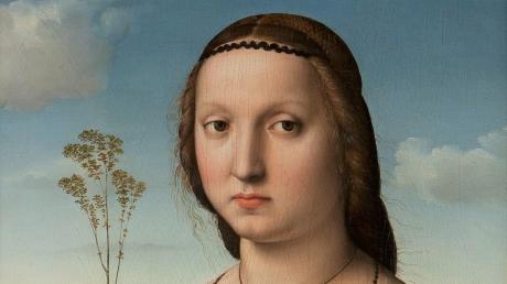 Raffaels Gemälda Maddalena Doni.