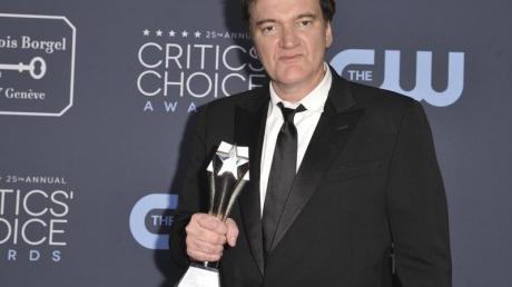 Quentin Tarantino wurde bei den «Critics' Choice Awards» für das beste Drehbuch ausgezeichnet.