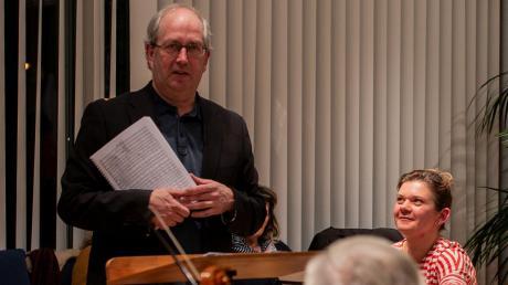 Seit 20 Jahren lehrt Maurice Hamers am Leopold Mozart Zentrum Blasorchesterleitung.