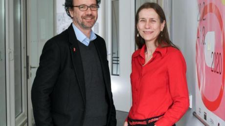 Carlo Chatrian und Mariette Rissenbeek freuen sich, dass es endlich losgeht.