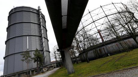 Augsburg bewahrt sein industrielles Erbe. London will einen der ältesten Gasbehälter der Welt abreißen.
