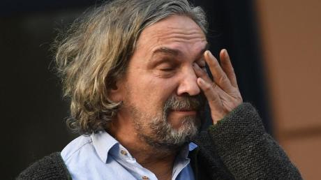Sichtlich mitgenommen:Spielleiter Christian Stückl.