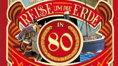 Klassiker der Weltliteratur: «Reise um die Erde in 80 Tagen» von Jules Verne.