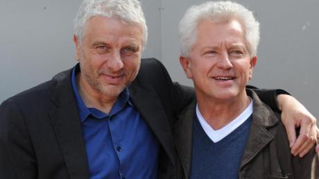 Udo Wachtveitl (als Kommissar Leitmayr, l) und Miroslav Nemec (als Kommissar Batic) ermitteln in München.